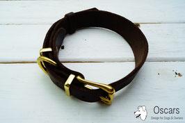 Welpen-Halsband Fettleder