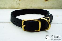 Halsband Fettleder