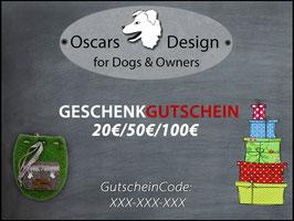 Oscars Geschenkgutschein (Online)