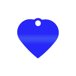 "Herz ""blau"" - GROSS"