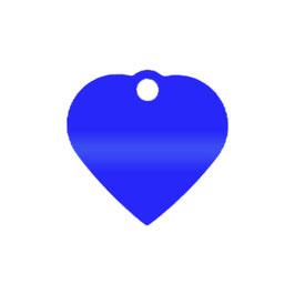 """Herz """"blau"""" - KLEIN"""