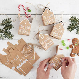 Adventskalender Gingerbread