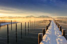 SONDERPREIS! Chiemsee 002 - Sonniger Wintertag