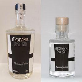 Monastic Dry GIn 0,5l und Monastic Dry Gin 0,1l