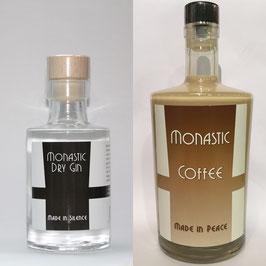 Monastic Coffee 0,5l und Monastic Dry Gin 0,1l