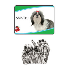 Art:Nr:9075 Shih Tzu Schlüsselanhänger