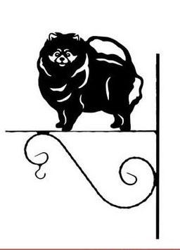"""Art:Nr:V-205 Blumenampel """" Pomeranian"""""""