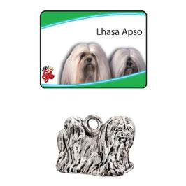 Art:Nr:9091 Lhasa Apso Schlüsselanhänger