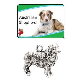 Art:Nr:9350 Australia Shepherd Schlüsselanhänger