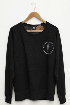 "sweater ""enthusiasts and collectors"" dark grey melange"