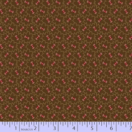 7685-0113 MARCUS PRAIRIE BASICS/SHIRTINGS MARRON LACITOS ROSA