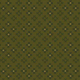 15606-66 ESTHER'S HEIRLOOM SHIRTINGS NINE-PATCHS VERDE