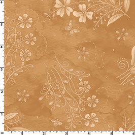MAS8610-T IN STITCHES FLORES SALVAJES OCRE