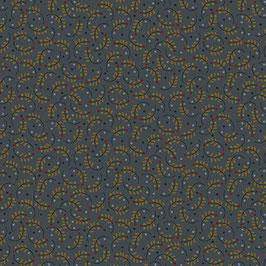 9643-79 RUSTIC HOMESTEAD HOJITAS FONDO AZUL