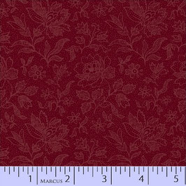 8287-0111  MARCUS PRIMITIVE THREADS TONAL ROJA