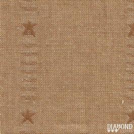 PRIM 1825 PRIMITIVE STARS OCRE DORADO