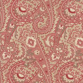 13680-17 RUE INDIENNE CACHEMIRES ROJO Y VERDE
