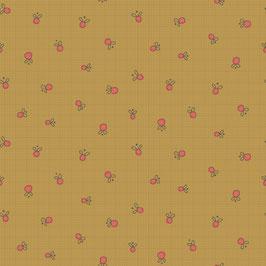 8676-33 GARDEN WHIMSY FRUTITAS FONDO OCRE
