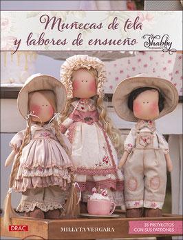 MUÑECAS DE TELA Y LABORES CON ENCANTO-Shabby Romantic