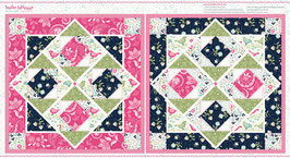 4968P-17 BOHO BLOOMS PANEL MINI-QUILTS
