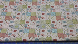 TREVISO PATCHWORK MULTI ROSA