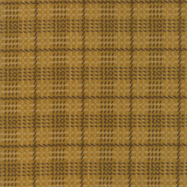 1057-16F WOOL NEEDLE VI FLANNEL CUADROS OCRE