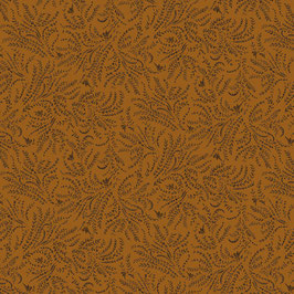 15684-30 ESTHER'S HEIRLOOM SHIRTINGS PAJAROS NARANJA