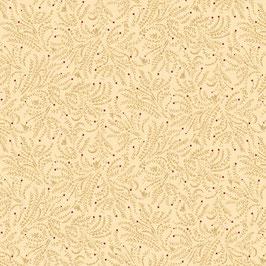 1586-44 LIBERTY STAR TONAL CREMA CON ESTRELLITAS ROJAS
