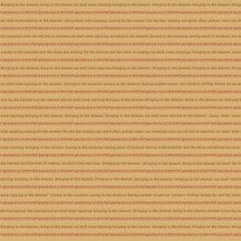 8149-33 BUGGY BARN BASICS LETRITAS BEIGE