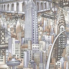 120-12351 CITYSCAPES RASCACIELOS