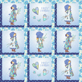 25356 HOLLY HOBBIE BLUE GIRL VIÑETAS