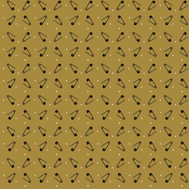 8823-33  PRIMITIVE STITCHES IMPERDIBLES FONDO OCRE