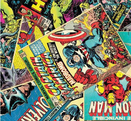 ESTAMPADO COMICS MARVEL