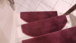Stufenmatte brombeer