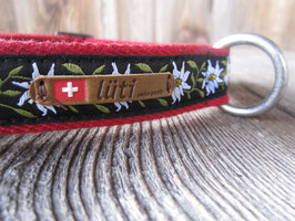 Halsband 'Geissenpeter rot'