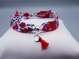 Bracelet CLARISSE/WILTSHIRE ROUGE