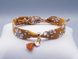Bracelet CLARISSE/CAPEL MOUTARDE