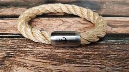 Armband aus 8 mm Tau Größe M (Messanleitung s. unten)
