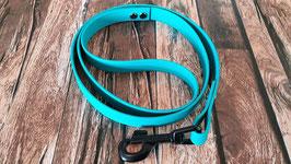 Hundeleine 1 Meter coated webbing buntstiftgrün