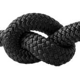 Halsband 12 mm Fettleder black