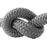 Halsband 12 mm Fettleder charcoal grey