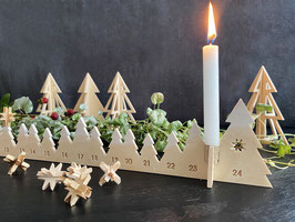 Adventskalender | Weihnachtskalender | Adventsbäume statt Adventskranz