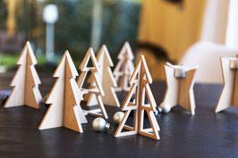 2er Set Stecktannen I Weihnachtsbäume