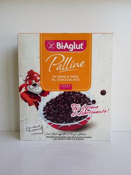Biaglut - Palline di mais e riso al cioccolato