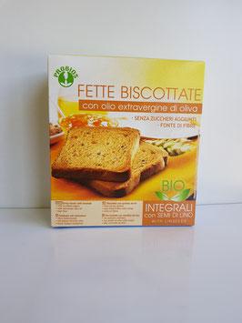 Probios - fette biscottate integrali con semi di lino