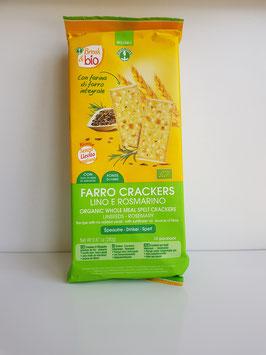 Probios - farro crackers con semi di lino