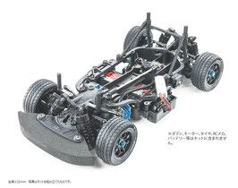1/10RC M-07 CONCEPT シャーシキット