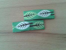 Haarspangen Blätter