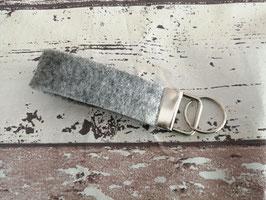 Schlüsselband grau