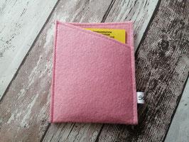 Impfpasshülle rosa